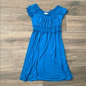 Dress barn size 10 blue sun dress
